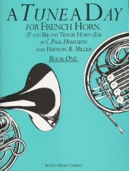 A Tune A Day For French Horn Book 1 (noty na lesní roh)