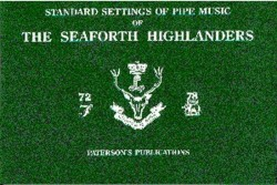 Standard Settings Of Pipe Music Of The Seaforth Highlanders (noty na dudy)