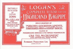 Logan's Complete Tutor For The Highland Bagpipe (noty na dudy)