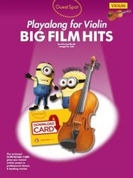 Guest Spot: Big Film Hits Playalong For Violin (noty na housle) (+download)