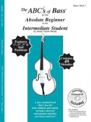 Janice Tucker Rhoda: The ABCs Of Bass For The Absolute Beginner To The Intermediate Student (noty na kontrabas) (+CD)