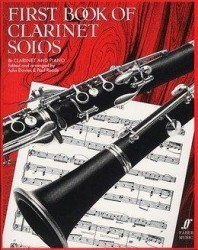 First Book Of Clarinet Solos (B Flat Edition) (noty na klarinet)