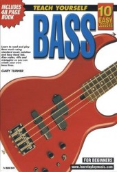 10 Easy Lessons: Teach Yourself Bass (instruktážní DVD & booklet pro baskytaru)