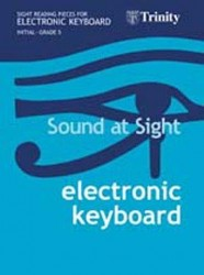 Sound At Sight: Electronic Keyboard Initial - Grade 5 (noty na keyboard)