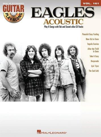 Guitar Play-Along Volume 161: The Eagles – Acoustic (noty, taby na kytaru) (+doprovodné CD)