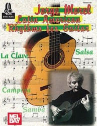 Jorge Morel: Latin American Rhythms For Guitar (noty na kytaru) (+download)