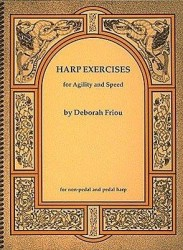Deborah Friou: Harp Exercises For Agility And Speed (noty na harfu)