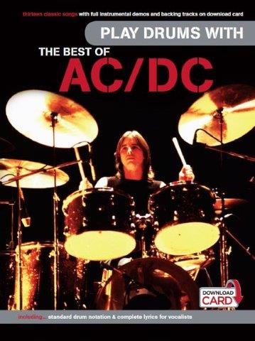 Play Drums With... The Best Of AC/DC (noty na bicí) (+doprovodný download)