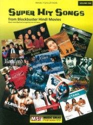 Super Hit Songs From Blockbuster Hindi Movies (noty, melodická linka, akordy)