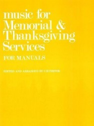 C.H. Trevor: Music For Memorial And Thanksgiving Services For Manuals. (noty na varhany)