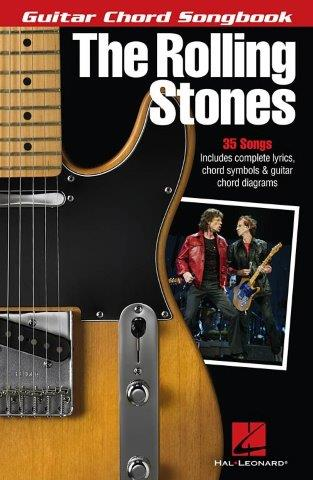 The Rolling Stones: Guitar Chord Songbook (akordy na kytaru, texty písní)