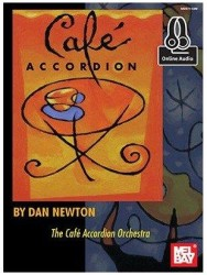 Dan Newton: Cafe Accordion (noty na akordeon) (+online audio)