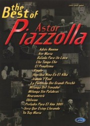 The Best Of Astor Piazzolla (noty na zpěv, klavír)