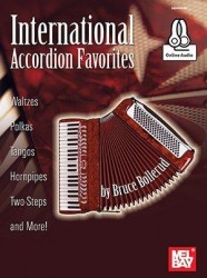 Bruce Bollerud: International Accordion Favorites (noty na akordeon) (+online audio)