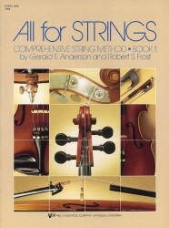 All For Strings Book 1 String Bass (noty na smyčcový kontrabas)