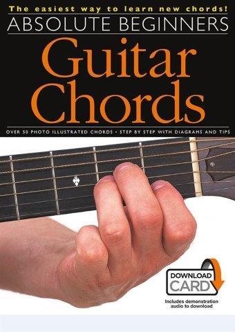 Absolute Beginners: Guitar Chords (akordy na kytaru) (+online audio ...