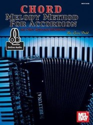 Gary Dahl: Chord Melody Method For Accordion (noty na akordeon) (+online audio)