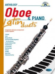 Latin Duets for Oboe & Piano (noty na hoboj, klavír) (+CD)