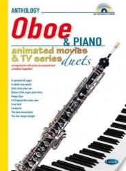Animated Movies and TV Duets for Oboe And Piano (noty na hoboj, klavír) (+CD)