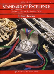 Standard Of Excellence: Comprehensive Band Method Book 1 (E Flat Horn) (noty na lesní roh)