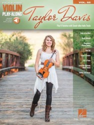 Violin Play-Along Volume 65: Taylor Davis (noty na housle) (+online audio)