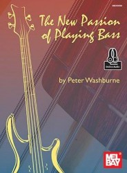 Peter Washburne: New Passion Of Playing Bass (noty, taby na baskytaru) (+online audio)