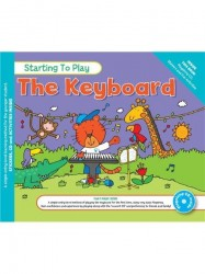 MUSIC FOR KIDS: Starting To Play The Keyboard (noty na keyboard) (+CD)