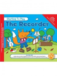 MUSIC FOR KIDS: Starting To Play The Recorder (noty na zobcovou flétnu) (+CD)