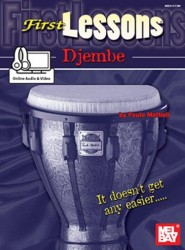 Paulo Mattioli: First Lessons Djembe (noty na djembe) (+online audio & video)