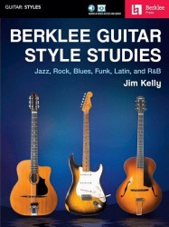 Berklee Guitar Style Studies (noty, taby na kytaru) (+online audio & video)