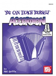 Neil Griffin: You Can Teach Yourself Accordion (noty na akordeon) (+online audio)