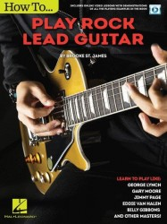 Brooke St. James: How To Play Rock Lead Guitar (taby na kytaru) (+online video)