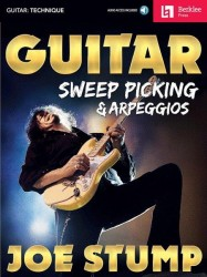 Guitar Sweep Picking & Arpeggios (noty, taby na kytaru) (+online audio)