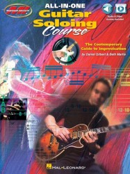 All-In-One Guitar Soloing Course - The Contemporary Guide To Improvisation (noty, taby na kytaru) (+online audio)