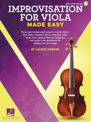 Laurie Gabriel: Improvisation For Viola Made Easy (noty na violu) (+online audio)