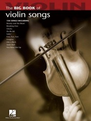 Big Book Of Violin Songs (noty na housle)