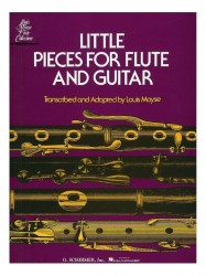 Little Pieces For Flute And Guitar (noty na příčnou flétnu, kytaru)