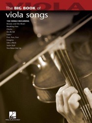Big Book Of Viola Songs (noty na violu)