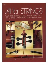 All For Strings Book 3 Violin (noty na housle)
