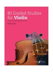 80 Graded Studies for Violin Book 2 (noty na housle)