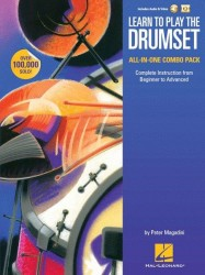 Learn to Play The Drumset – All-In-One Combo Pack (noty na bicí) (+online audio & video)