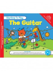 MUSIC FOR KIDS: Starting To Play Guitar (noty na kytaru) (+doprovodné CD)