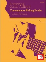 Keijo Pennanen: Contemporary Picking Etudes (noty na kytaru) (+online audio)
