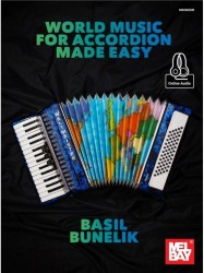 World Music For Accordion Made Easy (noty na akordeon) (+online audio)