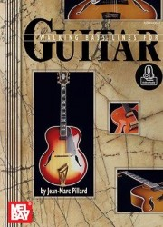 Jean-Marc Pillard: Walking Bass Lines For Guitar (noty, taby na kytaru) (+online audio)