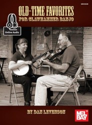 Old-Time Favorites for Clawhammer Banjo (noty, taby na banjo) (+online audio)