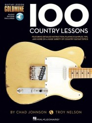100 Country Lessons - Guitar Lesson Goldmine Series (noty, taby na kytaru) (+online audio)