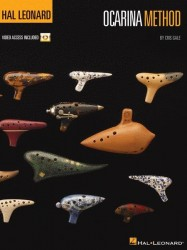 Cris Gale: Hal Leonard Ocarina Method (noty na okarínu) (+online video)