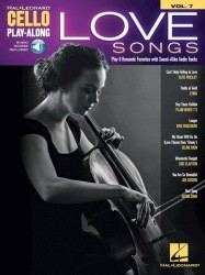 Love Songs: Cello Play-Along Volume 7 (noty na violoncello) (+online audio)