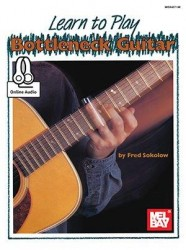 Learn To Play Bottleneck Guitar (noty, taby na kytaru) (+online audio)